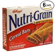 Nutrigrain Bars recipe: 1 pkg yellow cake mix  3/4 cup butter  2 1/2 cups quick oats  12 ounces preserves or jam  1 T water