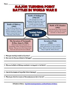 Printables Causes Of World War 1 Worksheet guerra mundo and redes sociales on pinterest turning point battles in world war ii worksheet