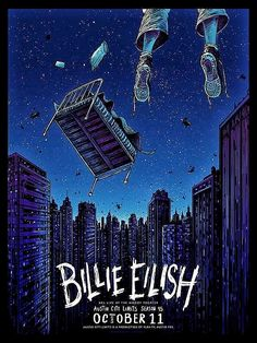 Poster art for Billie Eilish. Poster design by Barry Blankenship. Bedroom Wall Collage, Photo Wall Collage, Picture Wall, Room Posters, Poster Wall, Poster Prints, Whats Wallpaper, Photowall Ideas, Posca Marker
