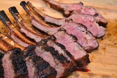 Weekend Food Project: Rack of Lamb on the Big Green Egg