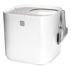 デザイン賞受賞 猫のトイレ 「ModKat モドキャット」 ホワイト EV4801