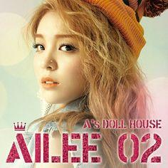 """Ailee - The Second Mini Álbum """"A's Doll House"""""""