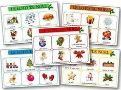 Loto de Noël à imprimer gratuitement | FLE enfants | Scoop.it