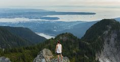 You can take the gondola up Grouse Mountain and then hike from there which roughly takes around 5 hrs at a decent pace. The hike is a hard one that is a lot of up and down and a fair bit of climbing.