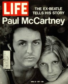 Paul and Linda on Life Mag