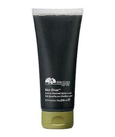 Origins Skin Diver Active Charcoal Body Wash: Scrub away the day with an invigorating body wash scented with spearmint and rosemary.