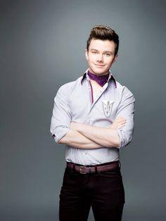 Chris Colfer as Kurt Hummel in Glee Season 6