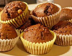 Schoko Haselnuss Muffins : Muffin Rezepte