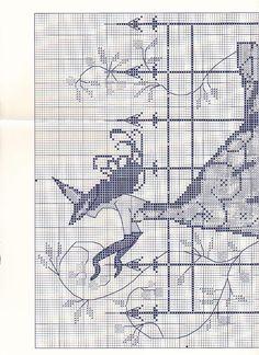Todo Mirabilia (pág. 185) | Aprender manualidades es facilisimo.com Cross Stitch Charts, Cross Stitch Designs, Cross Stitch Patterns, Dragon Cross Stitch, Fantasy Cross Stitch, Cross Stitching, Cross Stitch Embroidery, Stitch Doll, Halloween Cross Stitches