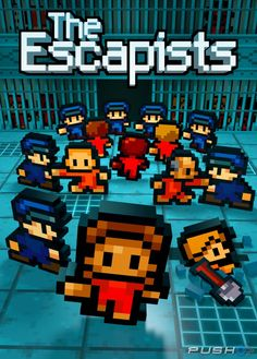 Mouldy Toof's award-winning sandbox prison escape game The Escapists is coming to Xbox One and PC on Friday February. A strategy game of captive survival and daring Latest Video Games, Video Games Xbox, Xbox One Games, Ps4 Games, Playstation Games, Games Consoles, Jeux Xbox One, Xbox 1, Killzone Shadow Fall