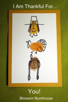 thanksgiving thumbprint art