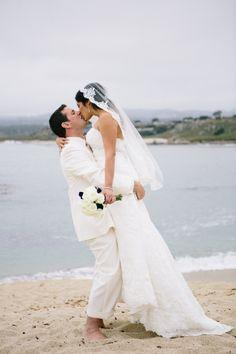 Ben and Karyna's Carmel Destination Wedding by Ashley Batz Photography