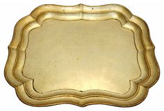Gold Florentine Tray on OneKingsLane.com
