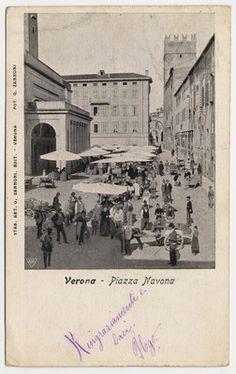 Verona - il teatro Nuovo - (ora piazza Viviani prima della costruzione dell'ex palazzo delle poste) SAGID - Search Search