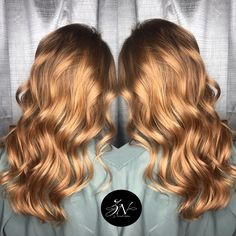 {Strawberry Blonde Balayage} by Madison at Z Nevaeh Salon  #knoxvilletn #salon #znevaehsalon @madisonatznevaehsalon @znevaehsalon