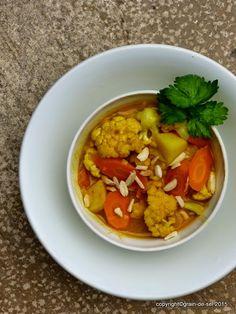 grain de sel - salzkorn: Zu Tisch mit ...GMK - Möhren-Kartoffel-Curry