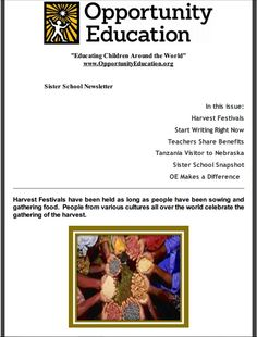 60 best monthly newsletters images on pinterest student school october sister school news learn about how to incorporate fall harvest into your letter writing fandeluxe Image collections