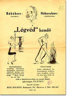 Poster advertising air raid precautions equipment, Hungary 1944 Air Raid, Hungary, Budapest, Advertising, History, Movies, Movie Posters, Historia, Film Poster