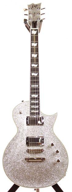 ESP Eclipse-II Silver Sparkle Electric Guitar