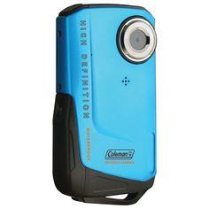 Coleman 8.0 Megapixel 1080p Hd Xtreme Digital Video Camera (blue)