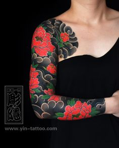 I incredibly have an appreciation for the different colors, lines, and depth. This is an excellent layout if you really want a Leg Sleeve Tattoo, Dragon Sleeve Tattoos, Chest Tattoo, Arm Band Tattoo, Aa Tattoos, Irezumi Tattoos, Future Tattoos, Japanese Flower Tattoo, Japanese Sleeve Tattoos