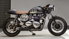 "Racing Cafè: Triumph Thruxton 2007 ""312"" by Analog Motorcycles"