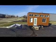 Titan Home Builders 20 Foot Model Look at the Exterior