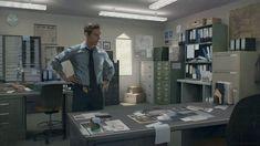 detective office concept art - Google Search