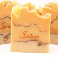 Ginger Peach Handmade Artisan Soap by SV.Soaps