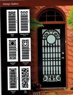 Titan Security Doors Laser Cut Security Doors – Laser cut from a single sheet of architectural grade aluminum, these designs provide all the benefits of a Titan security door – unsurpassed st…