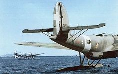 """Cant Z. 506 """"Airone"""" of the 146th Sea Recognition Squadron"""
