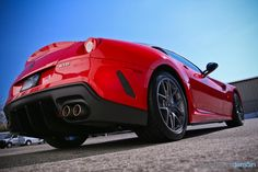 Ferrari 599 GTO - Wash and Wax using Sonax Brilliant Shine Detailer