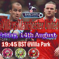 Aston Villa Vs Manchester United Live English Premier League Match Day Time, Date, Venue Aston Villa, English Premier League Live, Epl Live, Manchester United Live, Live Soccer, Living English, Villa Park, Premier League Matches, Day And Time