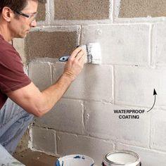 Waterproof the Walls