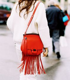 @Who What Wear - 13 Fringe Bags To Carry This Weekend