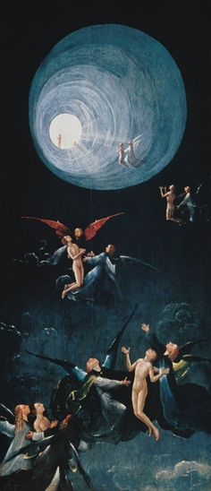 l'Ascent of the Blessed into Paradise - Jérôme Bosch