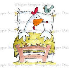 Get Well Chicken - Chickens - Animals - Rubber Stamps - Shop Chicken Crafts, Chicken Art, Chicken Quotes, Chicken Drawing, Chicken Soup, Chickens And Roosters, Pet Chickens, Painted Rock Animals, Rooster Art