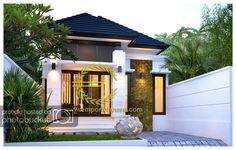 photo by Heny_Property Exterior Rendering, Exterior Design, Minimalist House Design, Minimalist Home, Style At Home, Cluster House, Co Housing, Building A Container Home, Dream House Exterior
