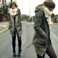 winter fashion | layers :D