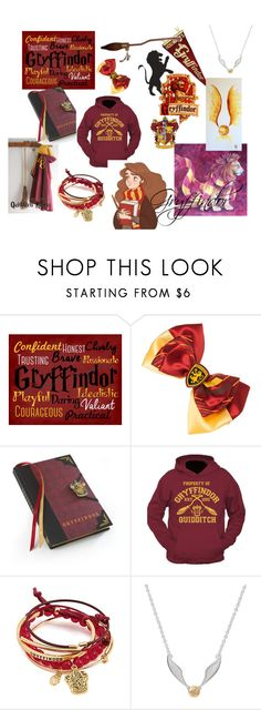 """Gryffindor Girl"" by misshermyg ❤ liked on Polyvore featuring Traits, Bioworld and Nimbus"