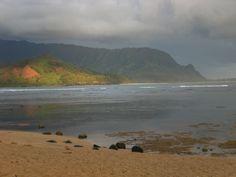 Hanalei Beach, Kauai, Hawaii