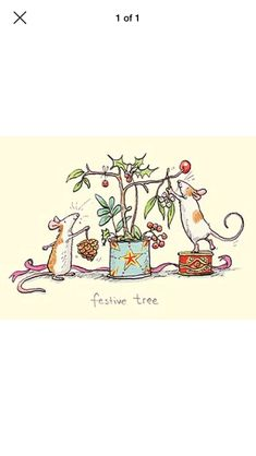 Childrens Christmas, Christmas Baby, Winter Christmas, Christmas Crafts, Holiday, Christmas Doodles, Christmas Drawing, Mouse Illustration, Christmas Illustration