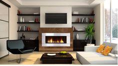 Gas fireplace -- Regency