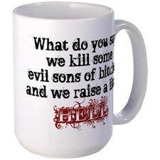 Raise a little Hell Mugs