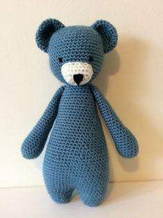 Crochet bear - my latest creation at www.bumble-jip.co.uk ❤️❤️