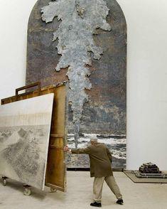 Anselm Kiefer in studio Anselm Kiefer, Georges Mathieu, Musée Rodin, Van Gogh Art, Art Antique, Picasso Paintings, Contemporary Photographers, Henri Matisse, Claude Monet