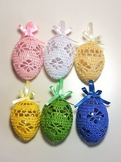 Crochet Home, Crochet Crafts, Crochet Projects, Easter Crafts, Holiday Crafts, Crafts For Kids, Easter Crochet, Cute Crochet, Crochet Snowflakes