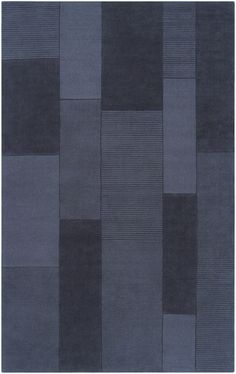 Tone on tone set the stage. A rug from the Bristol Collection by Surya. (BRT-2927)