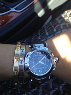 Cartier and Goyard bag....sigh