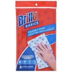 Brillo Basics Reusable Wipes, 8-ct. Pack